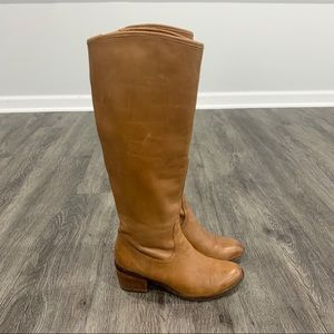 Sam Edelman | Brown Leather Loren Tall Riding Boot